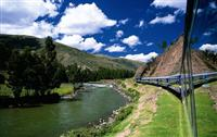Riding the Luxury Hiram Bingham Train to Machu Picchu, an Inca trail tour in style!